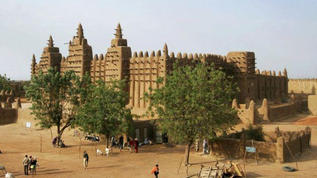 Berg naar Mali